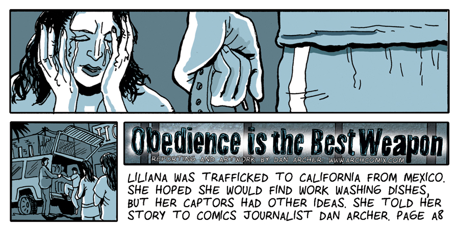 Trafficking Comic no.2 for SF Public Press and Woodstock Digital Media Festival