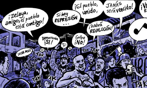 The Honduran Coup: A Graphic History