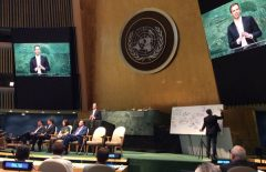 Live Sketching at the United Nations, May 2016