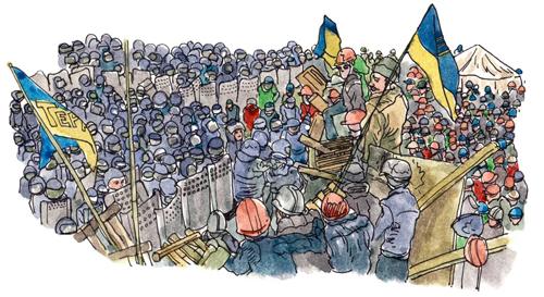 Ukraine's Revolution, Three Years On
