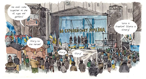 Ukraine's Revolution, Three Years On